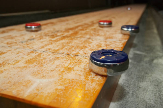 SOLO® Shuffleboard Movers Austin, Texas.